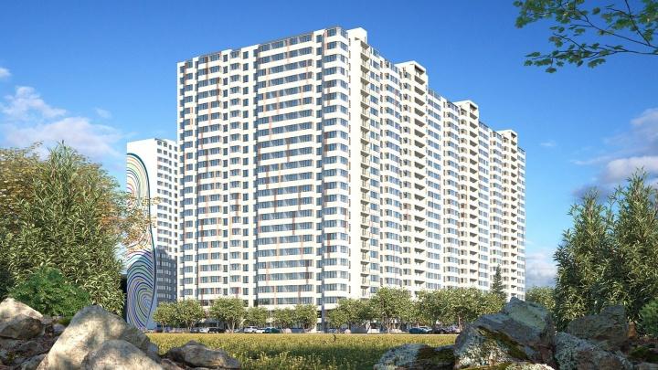 Микрорайон патриотов: в Кировском районе строят новый жилой комплекс с артом на фасадах (фото)