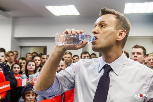 Алексей Навальный по-прежнему находится в коме