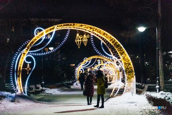 Так выглядел сквер Дзержинского в прошлом году