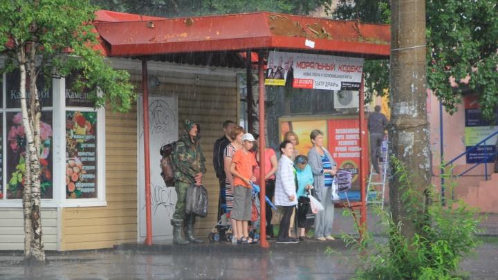 Северное УГМС: 22 июля в Архангельской области ожидаются кратковременные дожди
