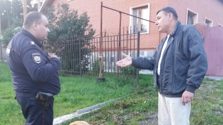 В Березовском оштрафовали пенсионера, забившего топором соседскую собаку на глазах детей