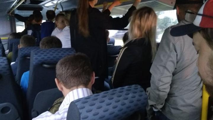 «Самое то в конце выходных»: на скандальном маршруте Рыбинск — Ярославль людей снова возят стоя