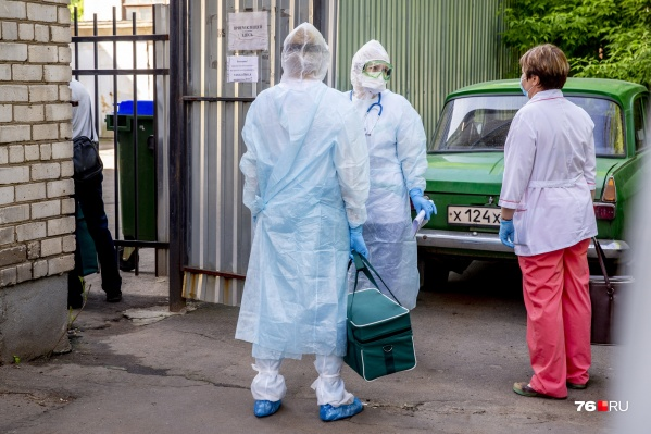 В Ярославской области новые случаи коронавируса выявили в шести городах и районах
