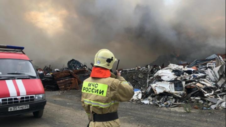 Виновных в пожаре на полигоне промышленных отходов в Норильске оштрафовали на 240 тысяч