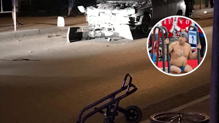 Под Тюменью пьяный водитель на Lada сбил известного спортсмена на коляске