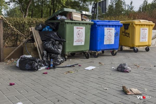 Так сейчас выглядит раздельный сбор мусора «Управлением отходами — Волгоград»