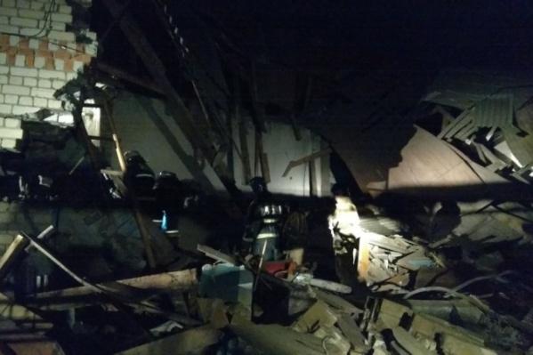 Газ взорвался по адресу: с. Филинское, улица Больничная, 34