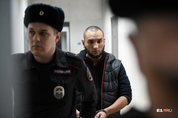 Обвиняемый в убийстве Ксении Каторгиной Михаил Федорович&nbsp;<br><br>