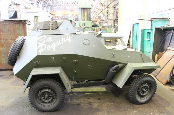 Это первая модель ВОВ, изготовленная на«Омсктрансмаше»