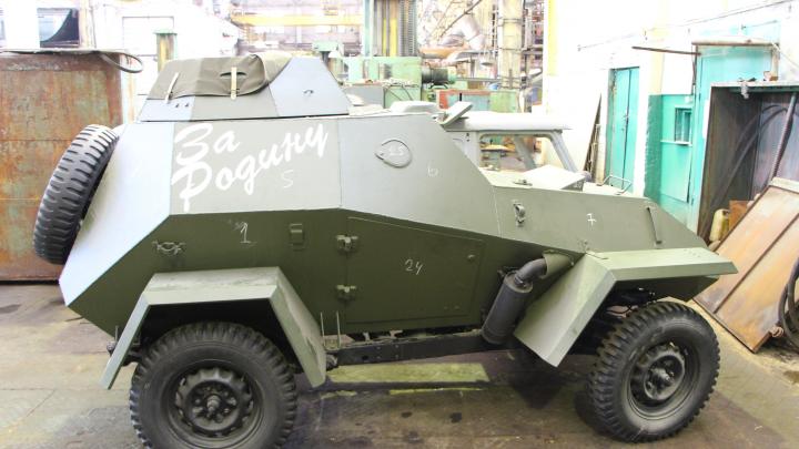 На «Омсктрансмаше» изготовят броневик времён Великой Отечественной войны