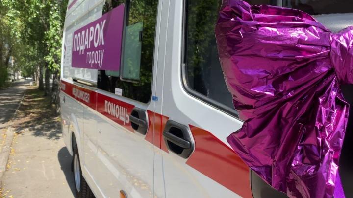 Бизнесмен из Екатеринбурга подарил скорой помощи новую машину