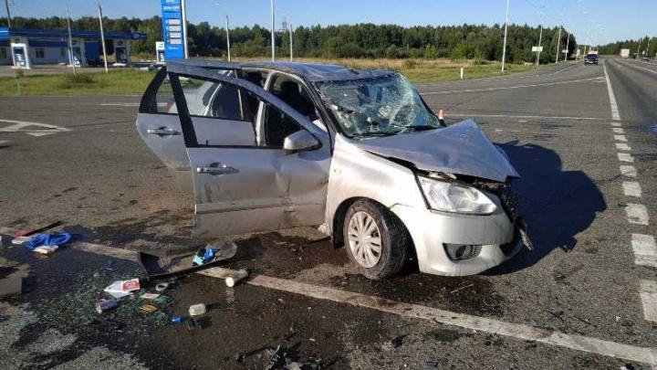 В Прикамье в аварии пострадали пять человек