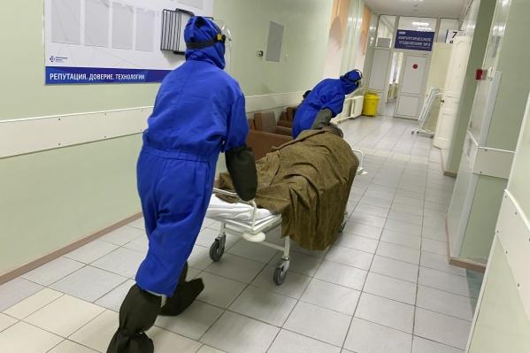 Количество умерших пациентов уже перевалило за сотню