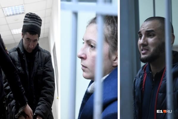 Ахметвалиева (слева), Меньшикову и Федоровича задержали 15 октября 2019 года, с тех пор они в СИЗО