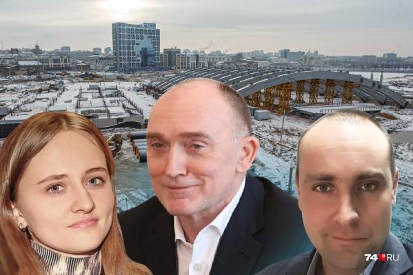 В деле о банкротстве застройщика замороженного конгресс-холла засветилисьэкс-губернатор Борис Дубровский, егосын Александр и дочь Анна