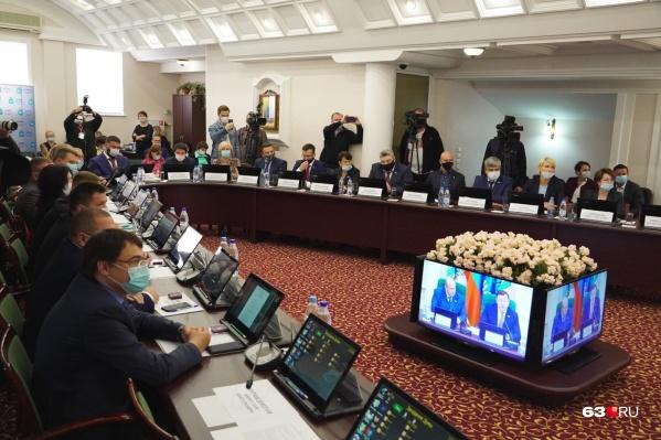 В состав новой гордумы Самары вошли 37 народных избранников