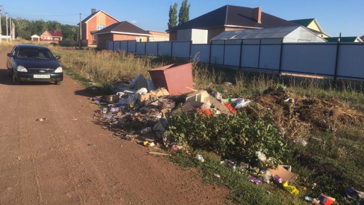 «Контейнер чист»: регоператор Башкирии ответил на жалобу уфимца о том, что не вывозят мусор