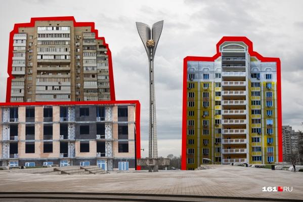 Ростов среди лидеров в стране по количеству высоток