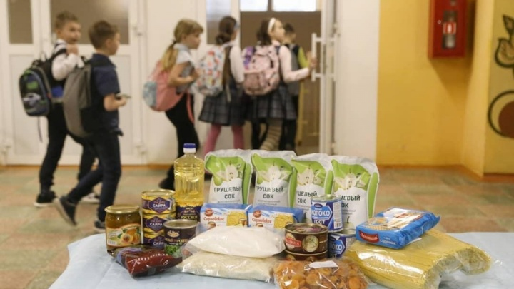 NN.RU отвечает: кому из нижегородских школьников положены бесплатные продуктовые наборы