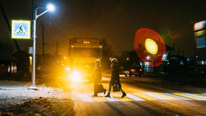 Как выглядят новые проекционные «зебры»: девять фотографий от Елены Латыповой