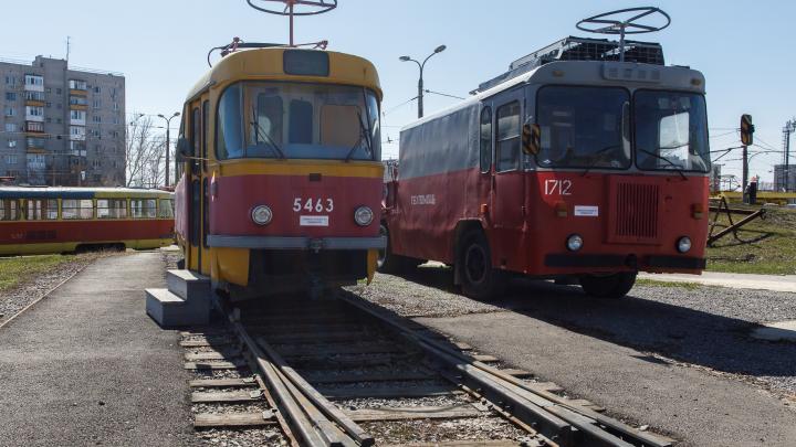 В Волгограде остановили работу еще одного трамвайного маршрута