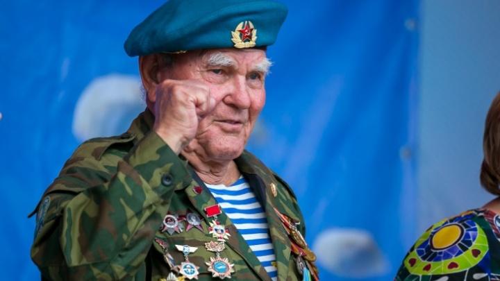 В Красноярске умер самый пожилой десантник страны