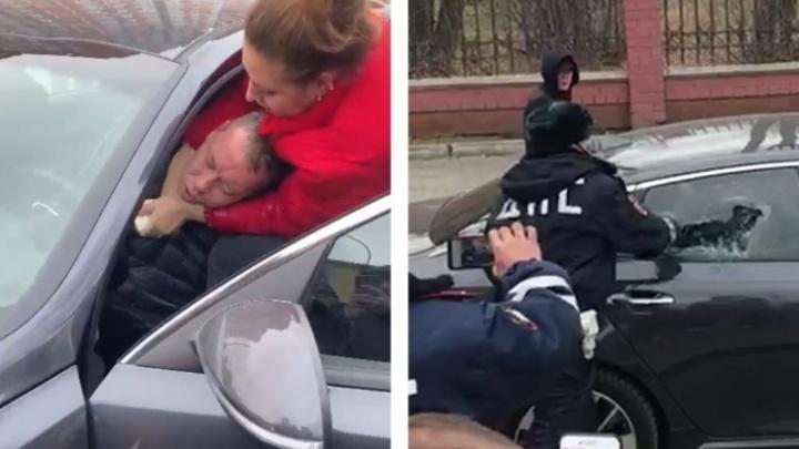 Водитель, потерявший сознание на Колмогорова, оказался высокопоставленным сотрудником ФСБ