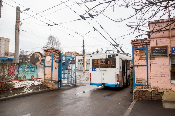 Троллейбусное депо полностью перестанет работать 1 апреля 2020-го