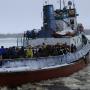 В Архангельске закроют пешеходную переправу на остров Хабарка