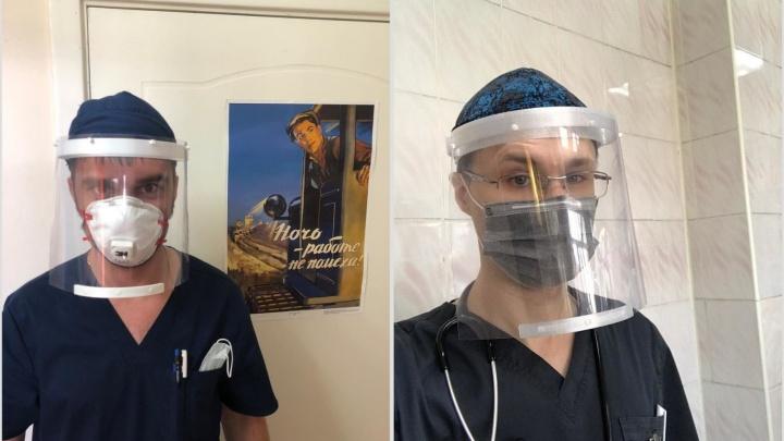 Омские айтишники начали бесплатно делать средства защиты для медиков на 3D-принтере
