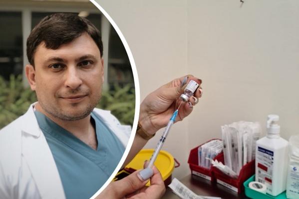 Сам Борис уже привился — вакциной от компании Pfizer