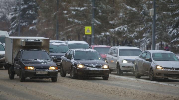 Под Челябинском из-за дорожных работ введут ограничения для машин до конца мая