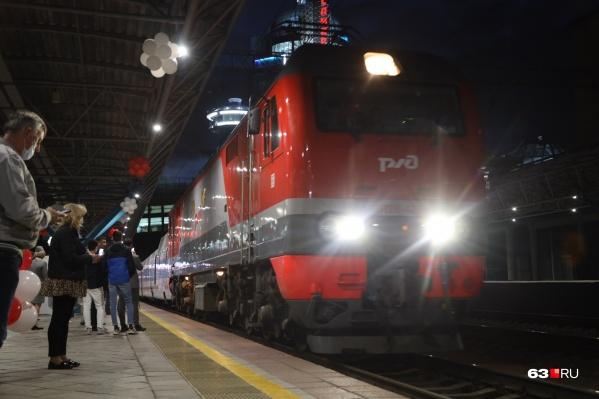 Поезд отправится из Самары 22 августа