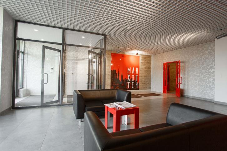 В холлах можно ожидать такси или назначать встречи