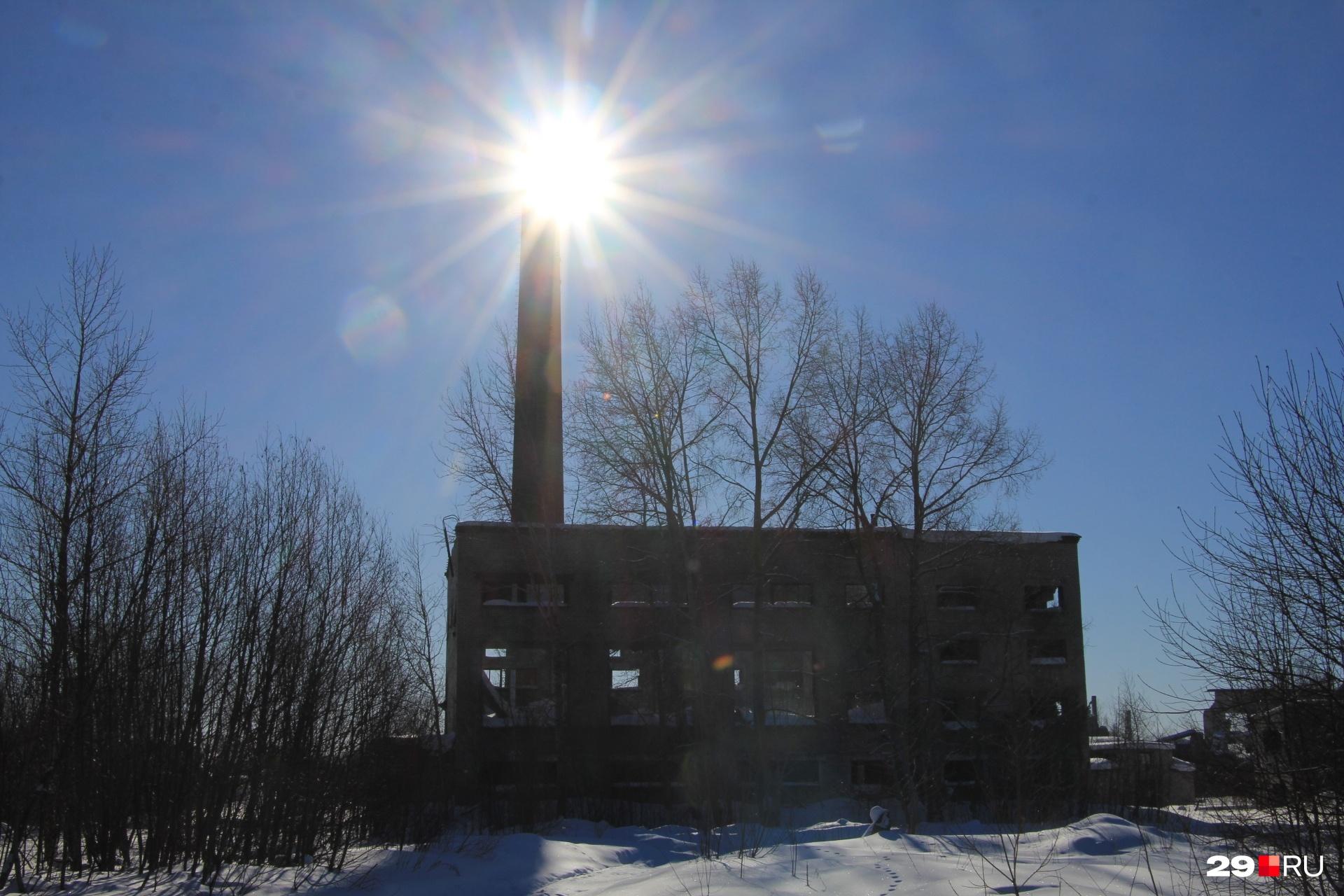 Один из заброшенных заводов, о которых говорит Александр Донской