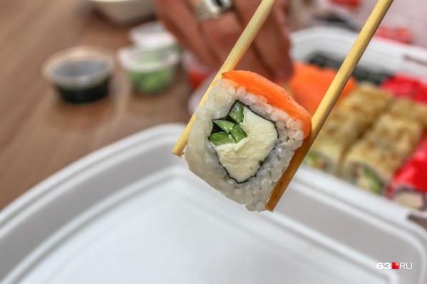 Бактерии могли находиться в рыбе