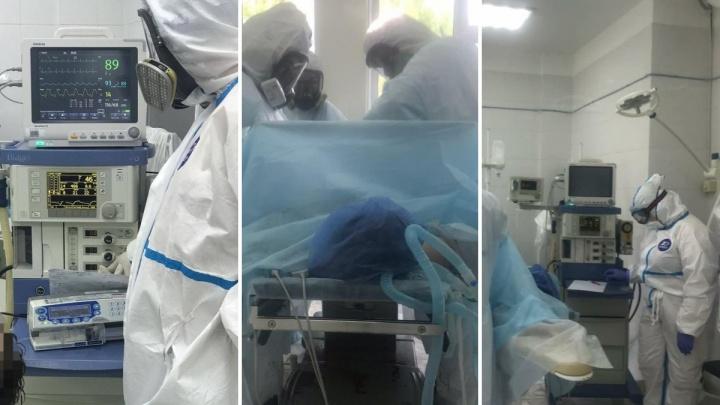 В БСМП прооперировали больных с коронавирусной инфекцией