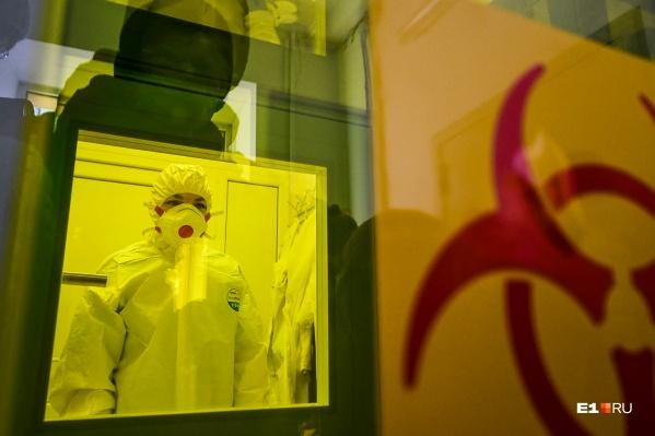 Число заболевших коронавирусом в регионе уже превысило сотню человек