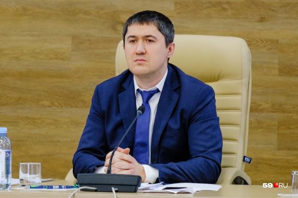 Дмитрий Махонин объявил о новых мерах поддержки