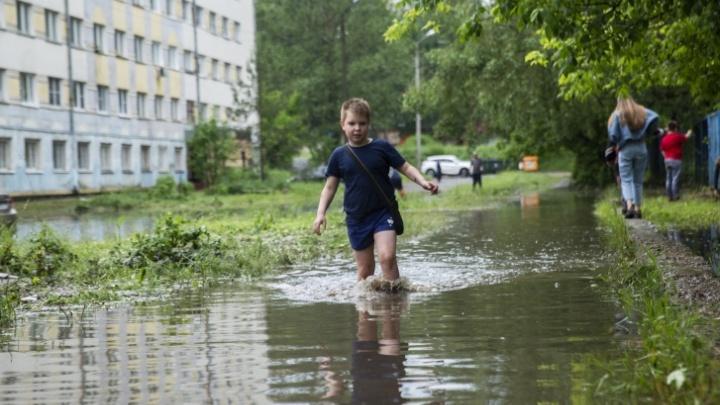 Безбожный уклон: почему во время дождей вода не уходит в ливнёвки. И почему нам с этим так и жить
