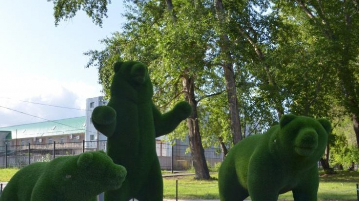 Челябинцы поддержали установку вечнозелёных героев русских сказок в сквере на Северо-Западе