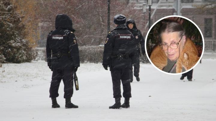Полиция ищет 87-летнюю пенсионерку, которая ушла из дома с вещами и кошкой