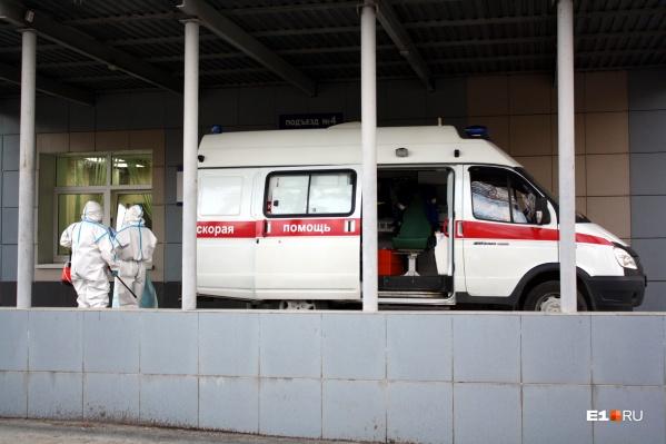 Заболевших коронавирусом в области уже 2861 человек