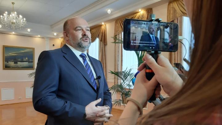 «Все решения для меня сегодня уже приняты»: что сказал Орлов в заявлении об отставке