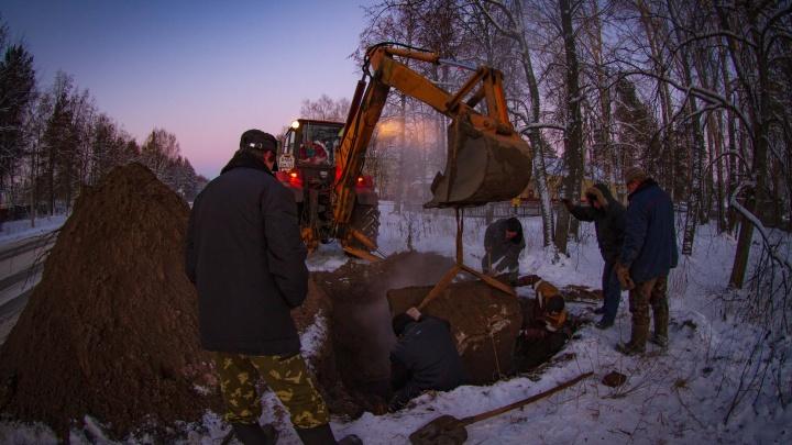 В Красновишерске школа и 38 многоквартирных домов остались без тепла