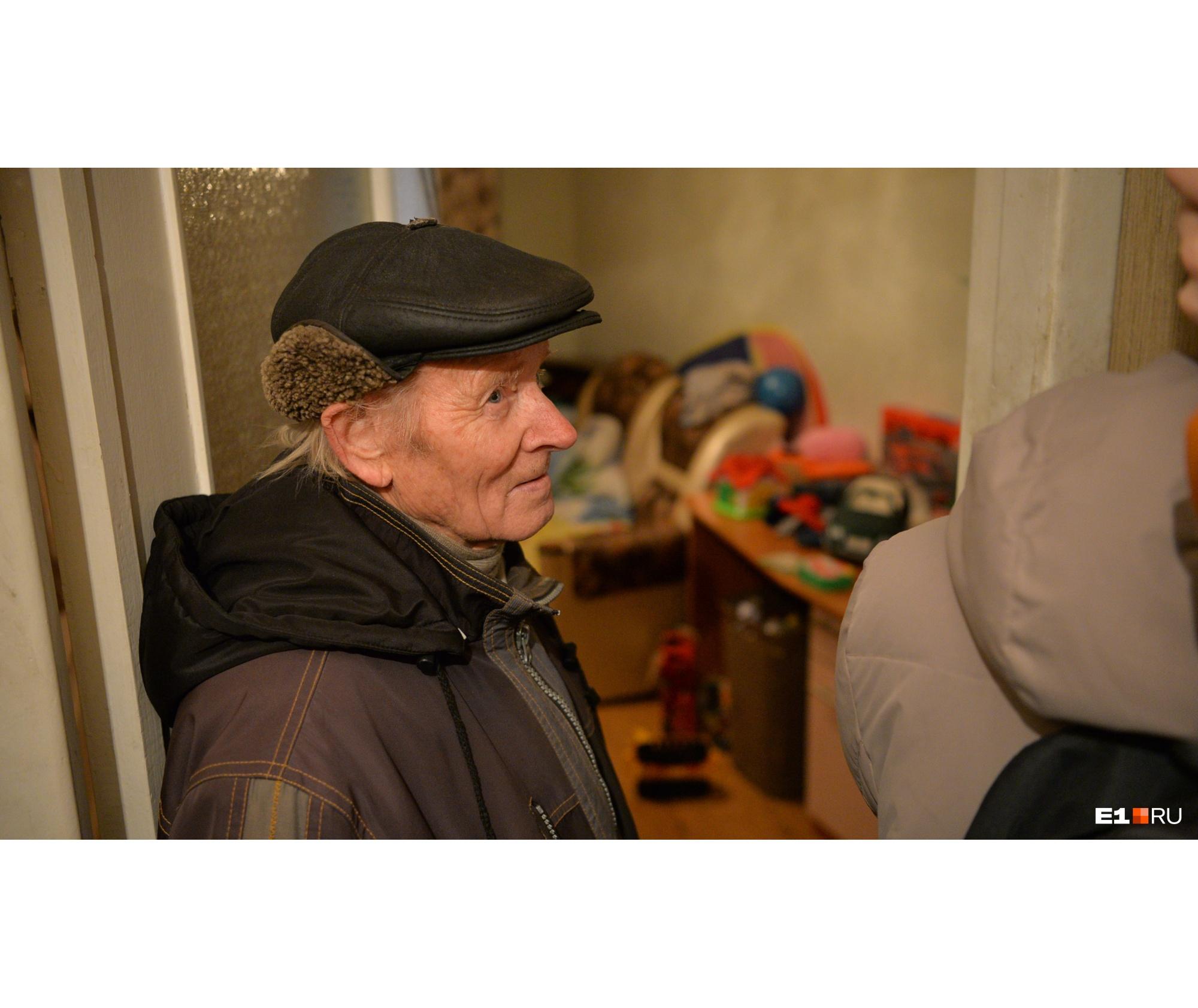 Александр Александров в квартире своего сына в день задержания