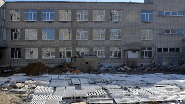 «Нужно ускориться»: власти Кургана проверили, как ремонтируют школу №11