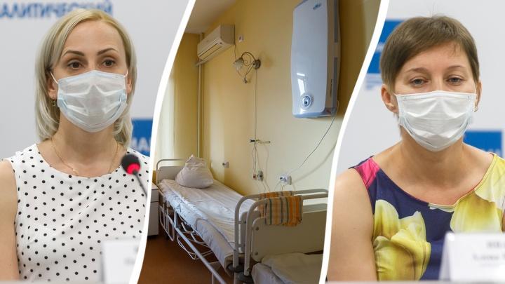 Врач и медсестра из Волгограда получили награды за борьбу с коронавирусом