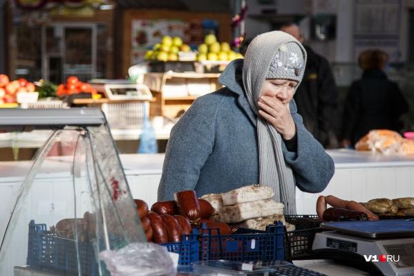 Стремительнее всего в прошлом году в регионе росли цены на продукты