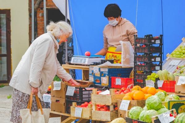 Пожилым людям можно выходить только к ближайшим торговым точкам